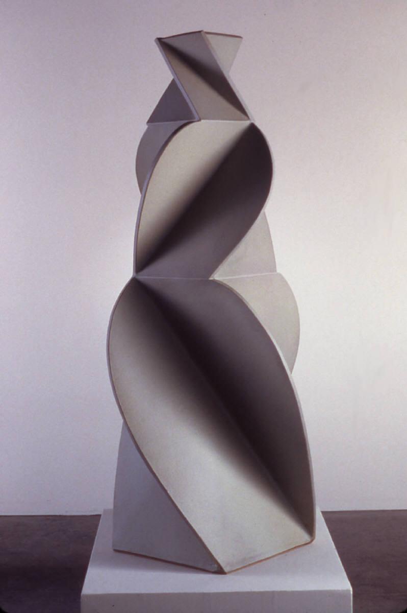 Artist: John Mason, Title: Figure, Pale White, 2002 - click to close ...: www.franklloyd.com/dynamic/artwork_detail.asp?ArtworkID=133