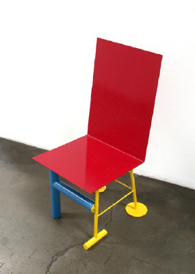 Untitled chair c 2000 by peter shire presented by frank for Chair design 2000