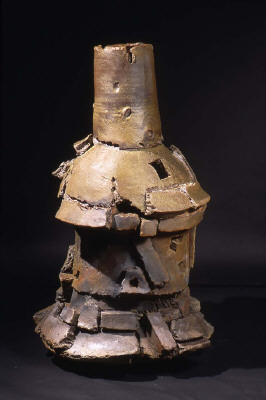 a peek at peter voulkos stoneware vessels and exhibition at frank lloyd gallery