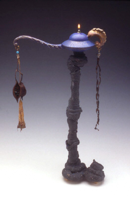 Artist: Adrian Saxe, Title: Hi-Fibre Unscripted Dramatic Pause Magic Lamp, 1997 - click for larger image