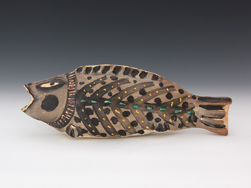 Artist: Akio Takamori, Title: Fish, 1988 - click for larger image