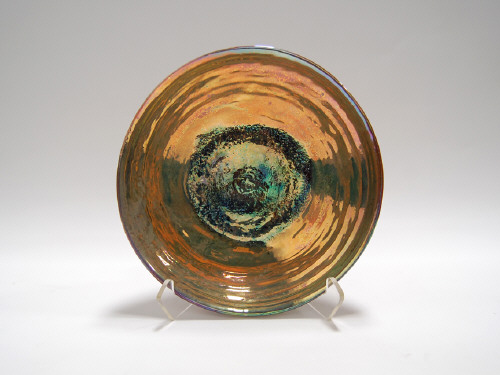 Artist: Beatrice Wood, Title: Gold Luster Bowl, c. 1970s - (view 1) - click for larger image