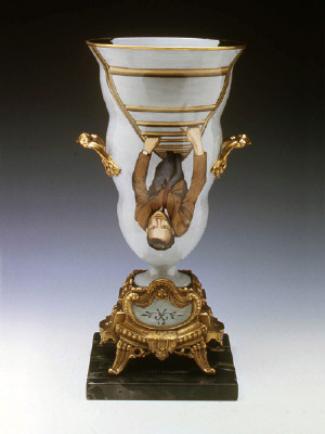 Artist: Cindy Kolodziejski, Title: Champagne Bucket, 1999 (View 2) - click for larger image
