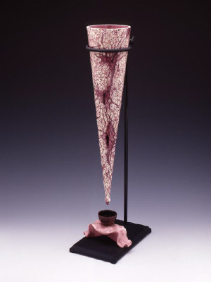Artist: Cindy Kolodziejski, Title: Cosmic Drip, 2004 - click for larger image
