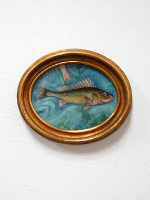 Artist: Cindy Kolodziejski, Title: Fish Portrait 2, 2011 - click for larger image