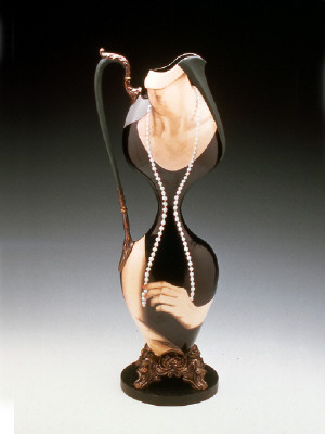 Artist: Cindy Kolodziejski, Title: Pearl Necklace, 1999 (View 1) - click for larger image