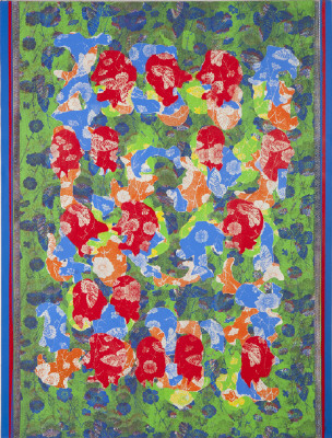 Artist: Ed Moses, Title: #2Akhel-Flora, 2009 - click for larger image