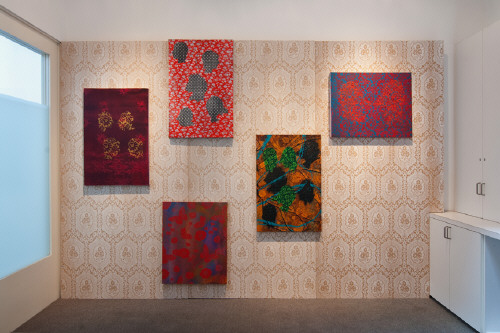 Artist: Ed Moses, Title: Installation View, 2009 - click for larger image