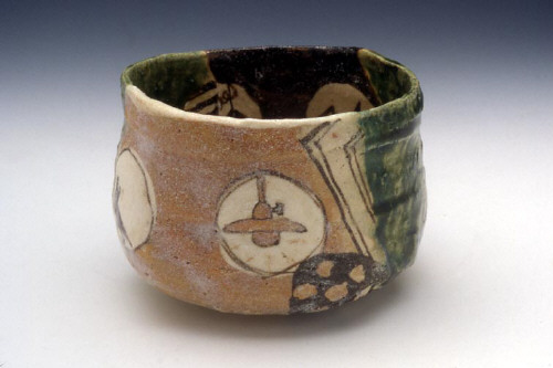 Artist: Goro Suzuki, Title: Narumioribe Teabowl, 1999 - click for larger image