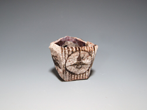 Artist: Goro Suzuki, Title: Stone Sake Cup, 2010 - click for larger image