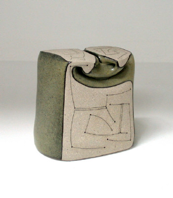 Artist: Gustavo Pérez, Title: Vase (06-187), 2006 - click for larger image