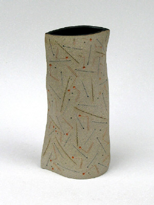 Artist: Gustavo Pérez, Title: Vase (08-72), 2008 - click for larger image