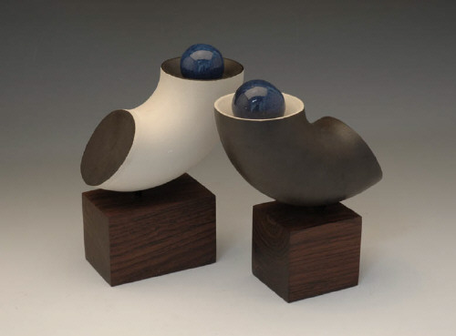 Artist: Harrison McIntosh, Title: Yin and Yang, 1991 - click for larger image