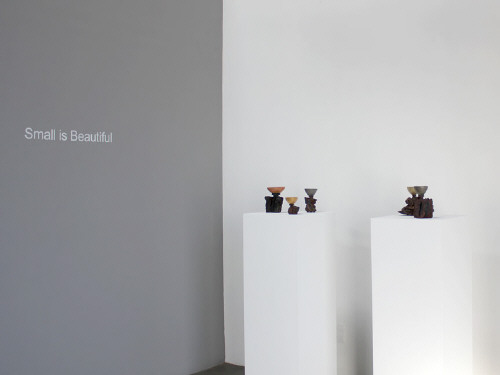 Artist:  Installation View, Title: Installation view of Small is Beautiful - click for larger image