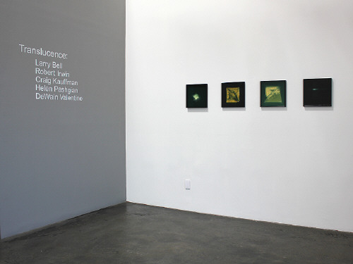 Artist:  Installation View, Title: Installation view of Translucence group exhibition.  - click for larger image
