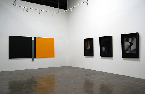 Artist:  Installation View, Title: Planes and Surfaces, 2008 - click for larger image