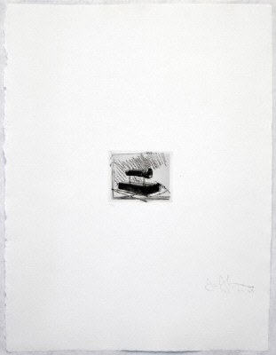 Artist: Jasper Johns, Title: Flashlight (small), from 1st Etchings, 2nd State, 1967-1969 - click for larger image
