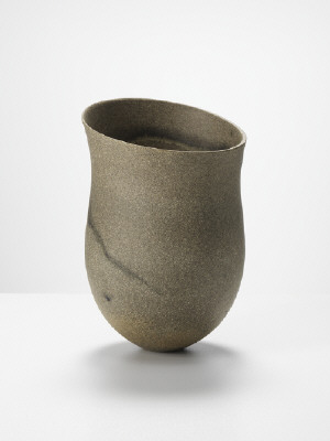 Artist: Jennifer Lee, Title: Sand-grained, haloed olive traces, tilted, 2011 - click for larger image