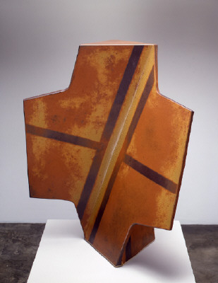 Artist: John Mason, Title: Cross, Ember with Tracers, 2005 - click for larger image
