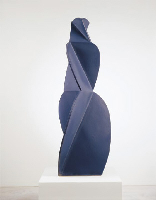 Artist: John Mason, Title: Figure, Dark Blue, 2000 - click for larger image