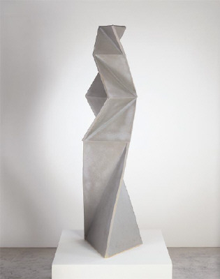 Artist: John Mason, Title: Figure, Soft Grey, 1998 - click for larger image