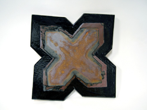 Artist: John Mason, Title: The Eccentric Cross, 1994 - click for larger image
