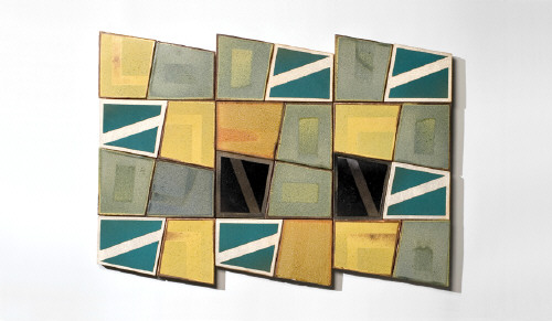 Artist: John Mason, Title: Wall Relief No. 8, 2010 - click for larger image