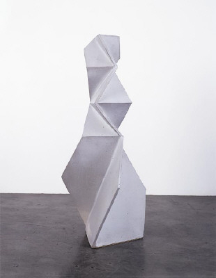 Artist: John Mason, Title: White Figure, 1998 - click for larger image