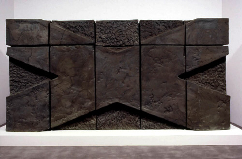 Artist: John Mason, Title: X-Wall, 1965  - click for larger image