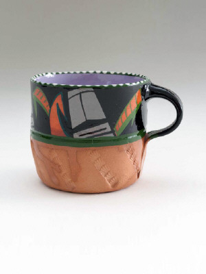 Artist: Ken Price, Title: Cup from Easter Island series, c. 1977 - click for larger image