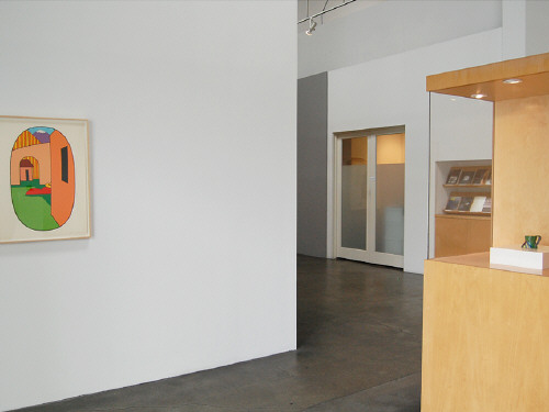 Artist: Ken Price, Title: Installation view of the Ken Price exhibition. - click for larger image