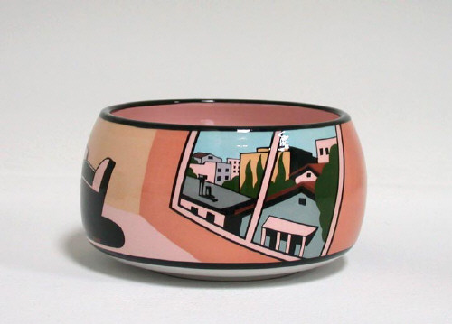 Artist: Ken Price, Title: Untitled (Bowl with Interior), 1991 - click for larger image