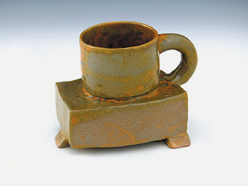Artist: Ken Price, Title: Untitled Cup, c. 1960-1961 - click for larger image