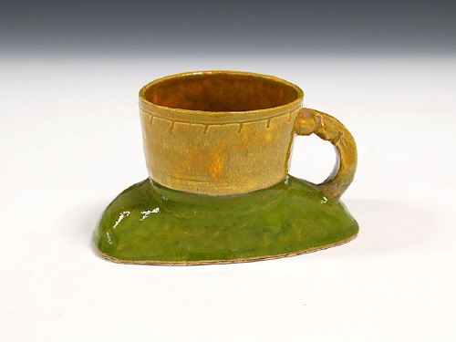 Artist: Ken Price, Title: Untitled Cup, c. 1966-1967 - click for larger image