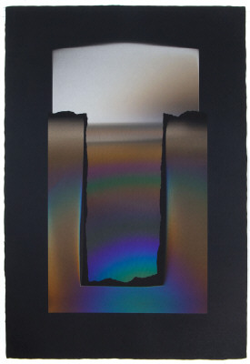 Artist: Larry Bell, Title: AAAAA 99, 2007 - click for larger image
