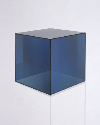 Artist: Larry Bell, Title: Cube 16, 2008 - click for larger image