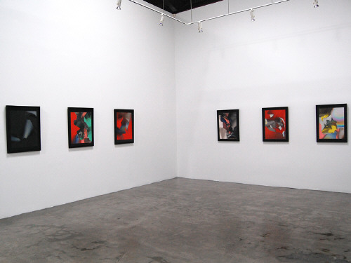 Artist: Larry Bell, Title: Installation view of Larry Bell: Recent Work - click for larger image