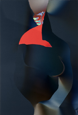 Artist: Larry Bell, Title: POJ #10 (Joan as Catherine the Great), 2010 - click for larger image