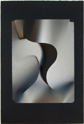Artist: Larry Bell, Title: VD 7, 2008 - click for larger image