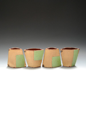 Artist: Mark Pharis, Title: Set of Four Vases - click for larger image