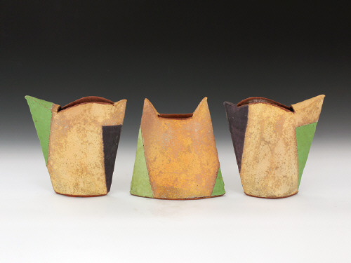 Artist: Mark Pharis, Title: Set of Three Vases - click for larger image
