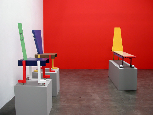 Artist: Peter Shire, Title: Gallery Installation View - click for larger image