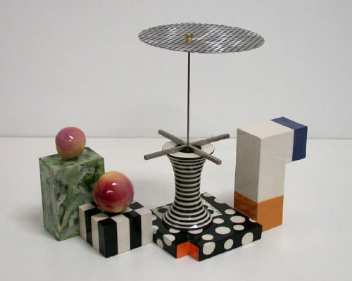 Artist: Peter Shire, Title: Mexican Bauhaus with Two Peaches #2, 2006 - click for larger image