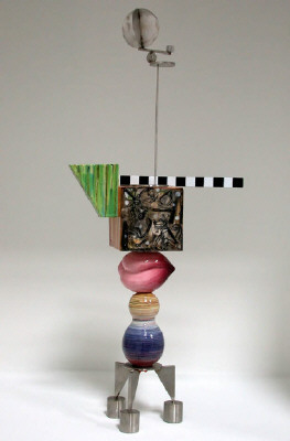 Artist: Peter Shire, Title: Mini Stack: Arf, 2004 - click for larger image