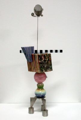 Artist: Peter Shire, Title: Mini Stack: Cowboy Coffee, 2004 - click for larger image