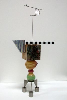 Artist: Peter Shire, Title: Mini Stack: Hammer'n Billy - click for larger image
