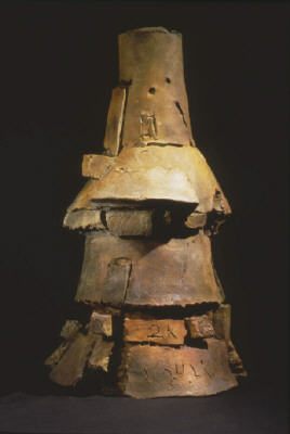 Artist: Peter Voulkos, Title: Alegria, 2000, edition of 5 - click for larger image
