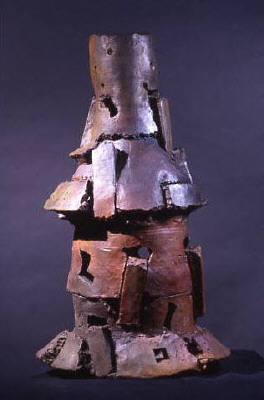 Artist: Peter Voulkos, Title: Chaco, 2000 - click for larger image