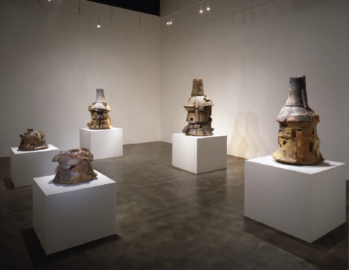 Artist: Peter Voulkos, Title: Installation View, 1999 - click for larger image