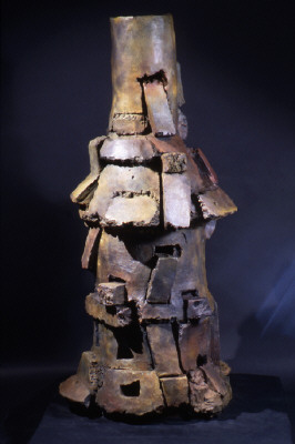 Artist: Peter Voulkos, Title: Mimbres, 2000 (Edition of 5) - click for larger image